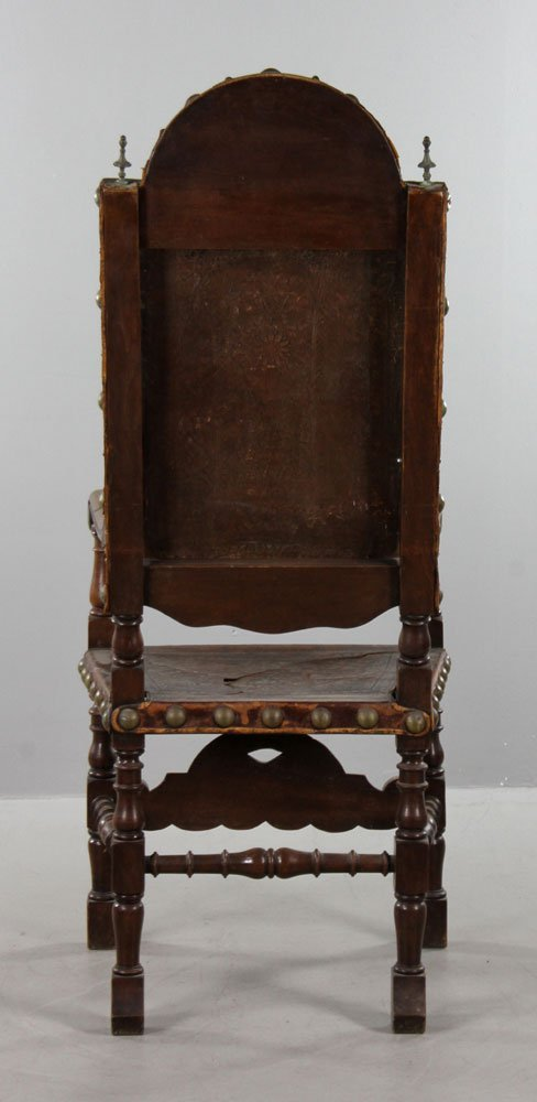 Spanish Carved Armchair - 3