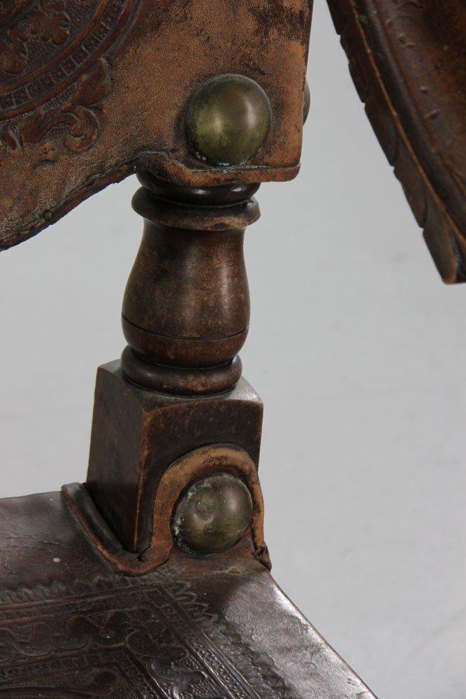 Spanish Carved Armchair - 9