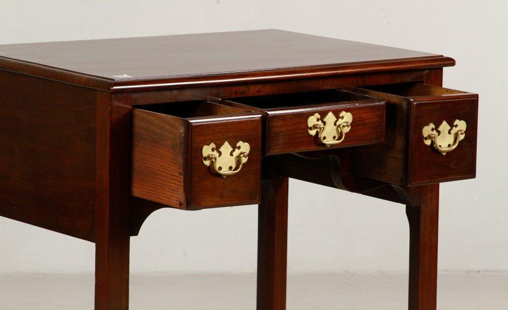 George III Style Mahogany Lowboy - 2