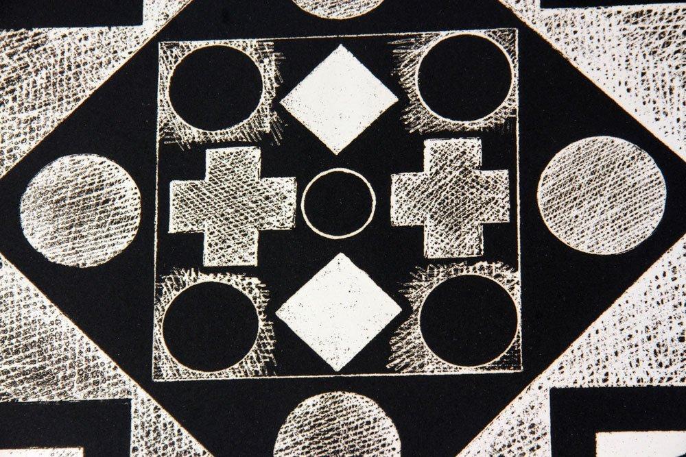 "Ortman, ""Five,"" Three Lithographs - 2"