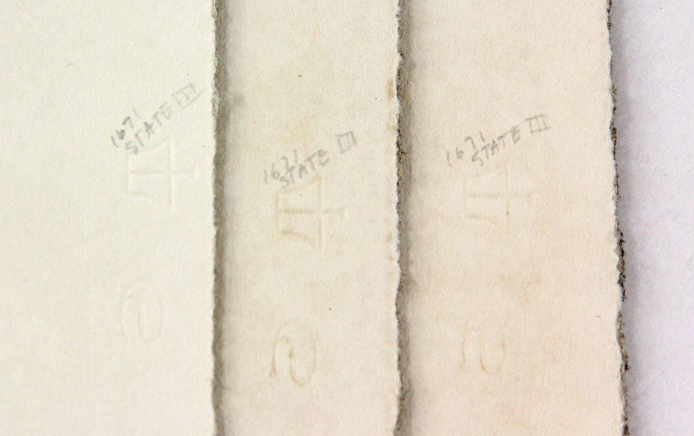 "Ortman, ""Five,"" Three Lithographs - 4"