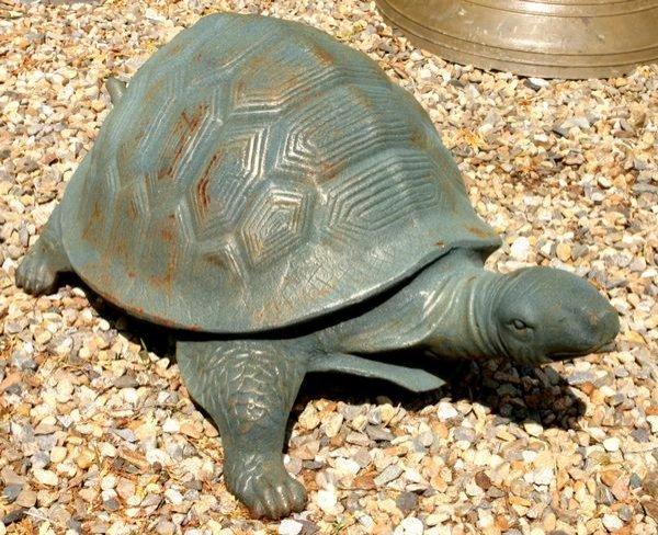 "5006: CAST IRON TURTLE, 38"""