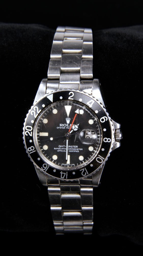 Stainless Steel Rolex GMT-Master Chronometer