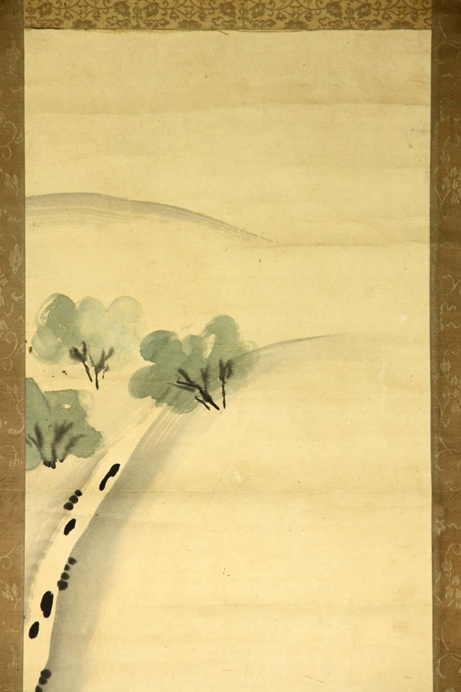 Four Japanese Scroll Paintings - 3