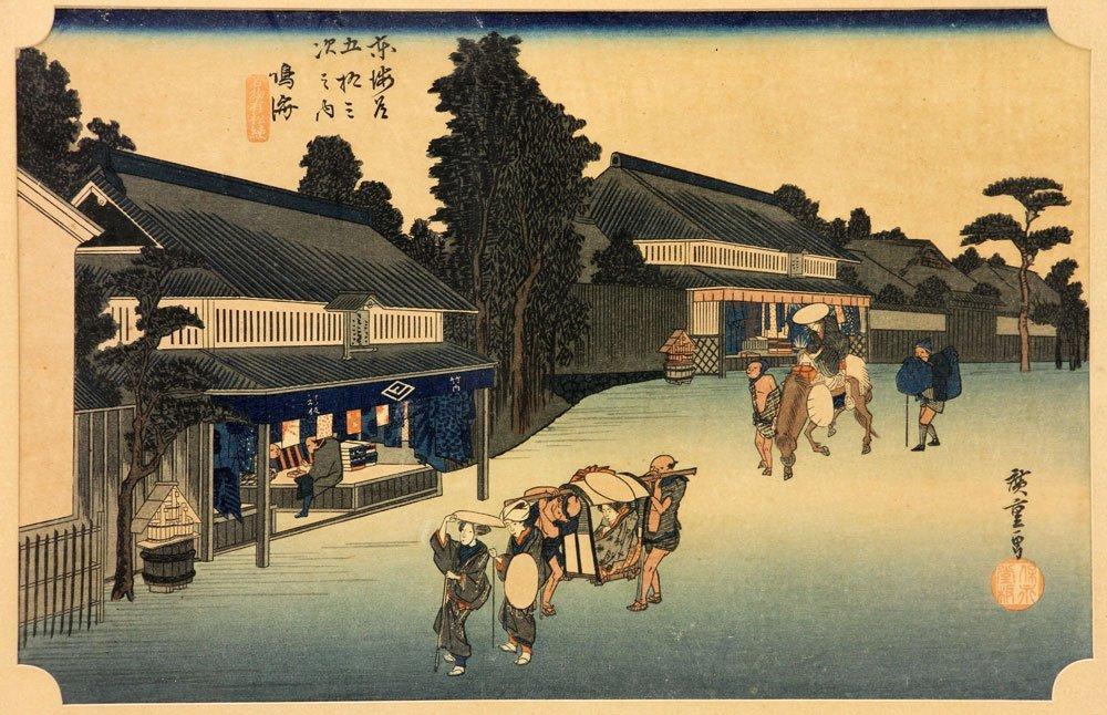 Four Japanese Woodblock Prints - 10