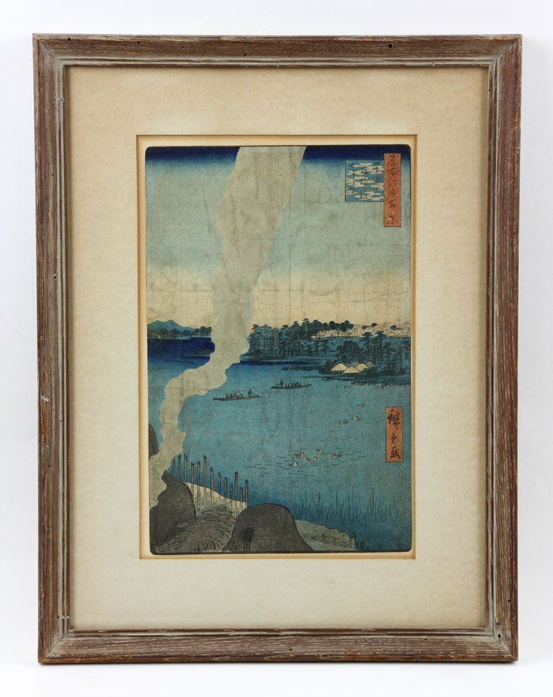 Four Japanese Woodblock Prints - 7