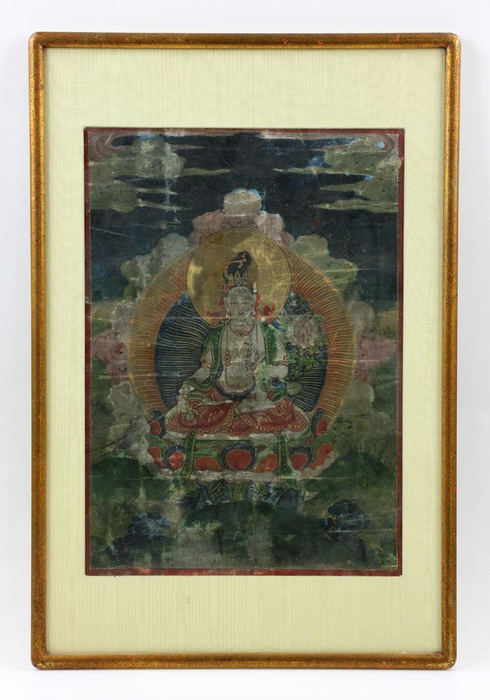 18th/19th C. Thangka Painting