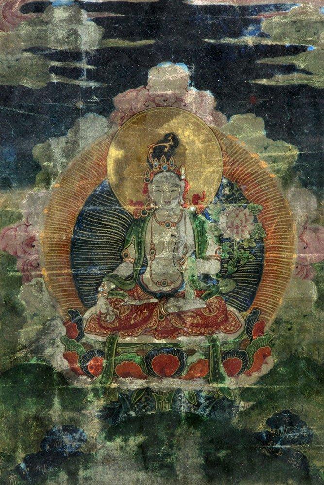 18th/19th C. Thangka Painting - 3