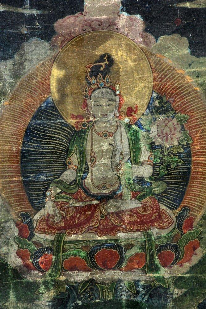 18th/19th C. Thangka Painting - 4