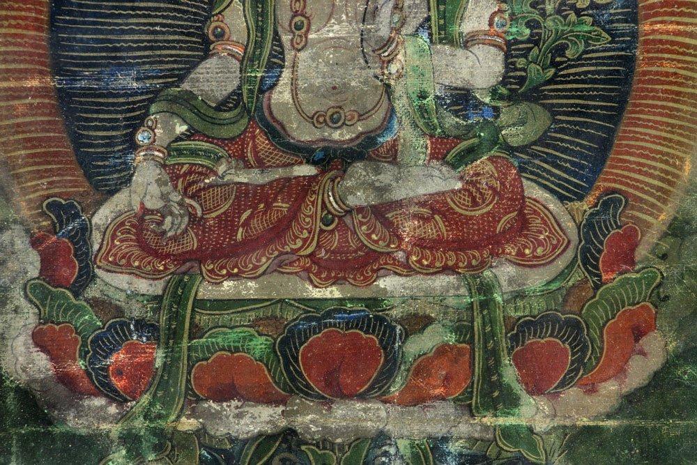 18th/19th C. Thangka Painting - 5