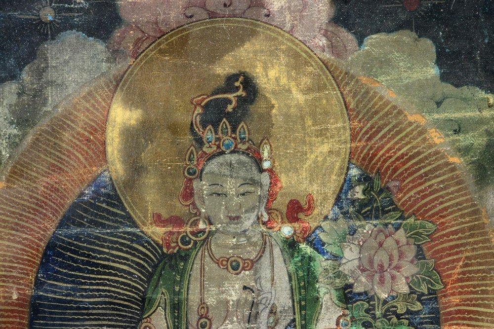 18th/19th C. Thangka Painting - 6