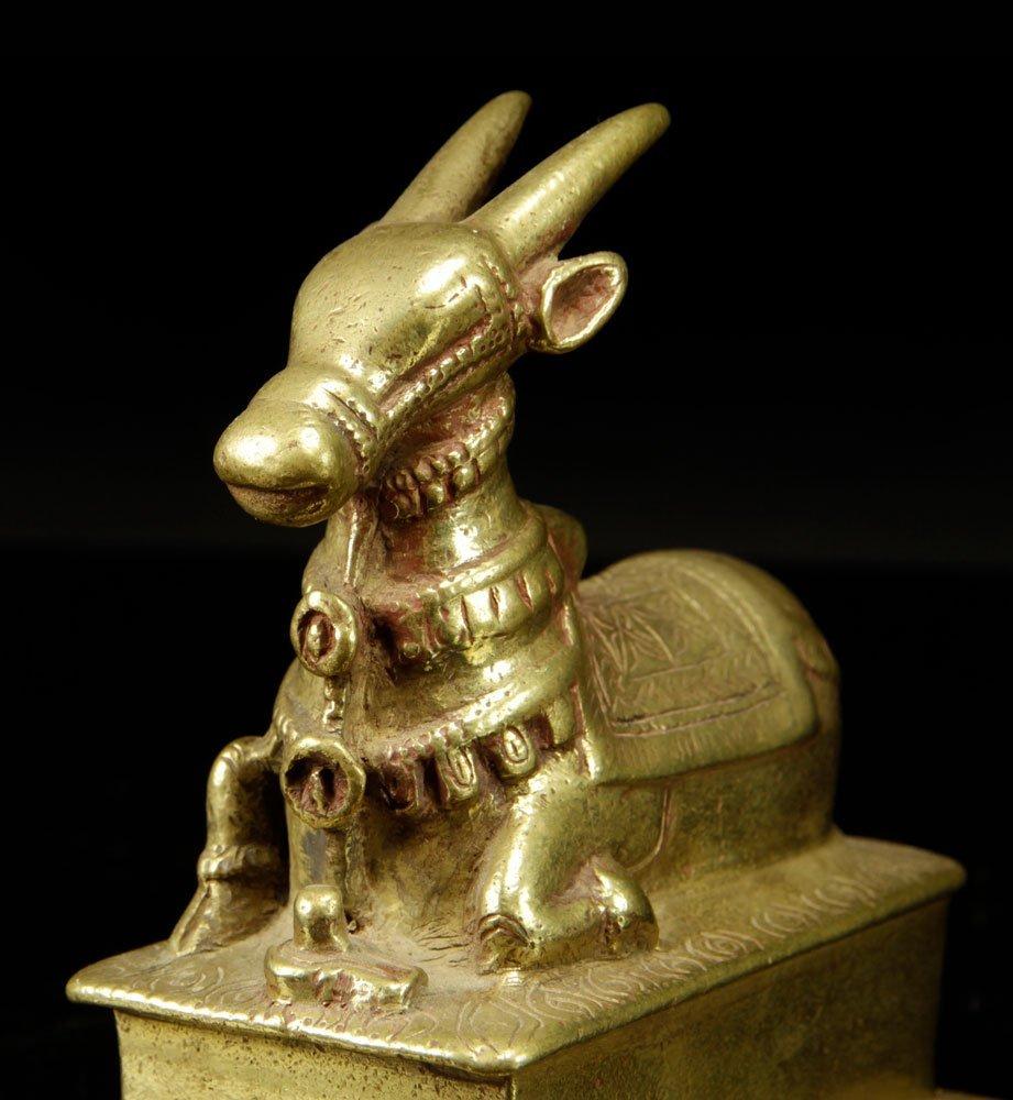 Three Tibetan Brass Figures - 3