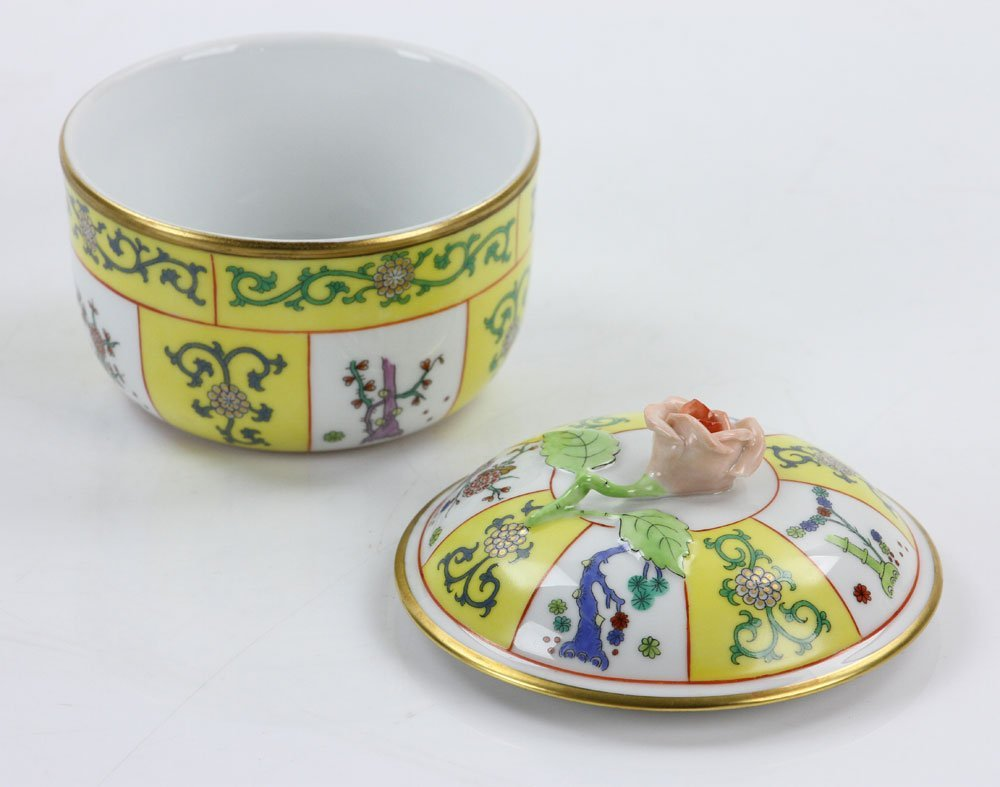 """Herend """"Yellow Dynasty"""" Coffee Service - 6"""