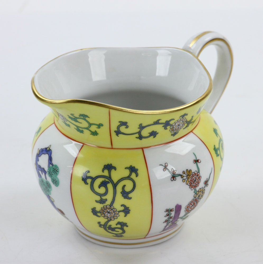 """Herend """"Yellow Dynasty"""" Coffee Service - 8"""