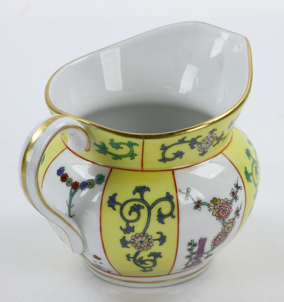 """Herend """"Yellow Dynasty"""" Coffee Service - 9"""