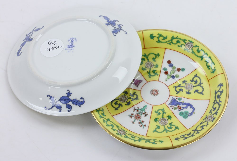 """Herend """"Yellow Dynasty"""" Tea Service - 6"""