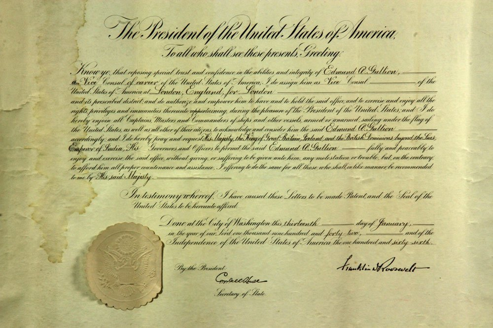 Collection of Four Franklin Roosevelt Appointment - 3
