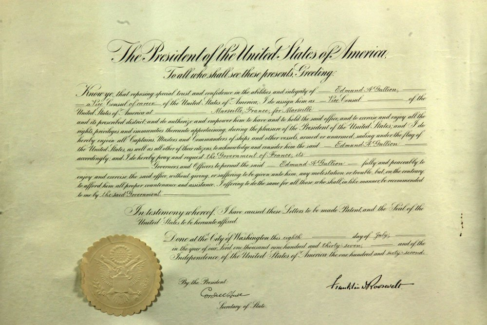 Collection of Four Franklin Roosevelt Appointment - 7