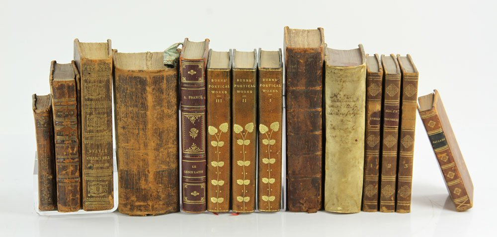 Early American, English & German Books