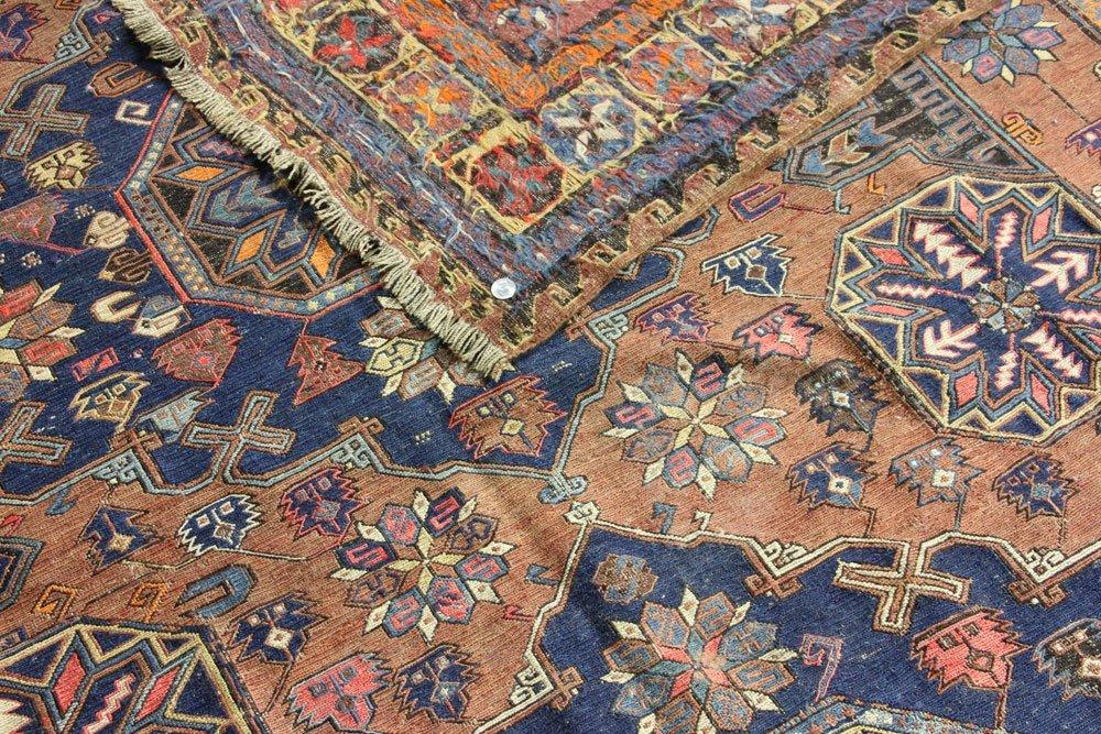 Antique Persian Kilim Carpet - 5