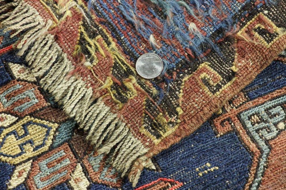Antique Persian Kilim Carpet - 6