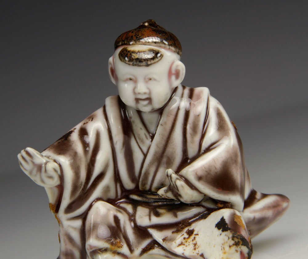 Three Japanese Porcelain Figures - 5