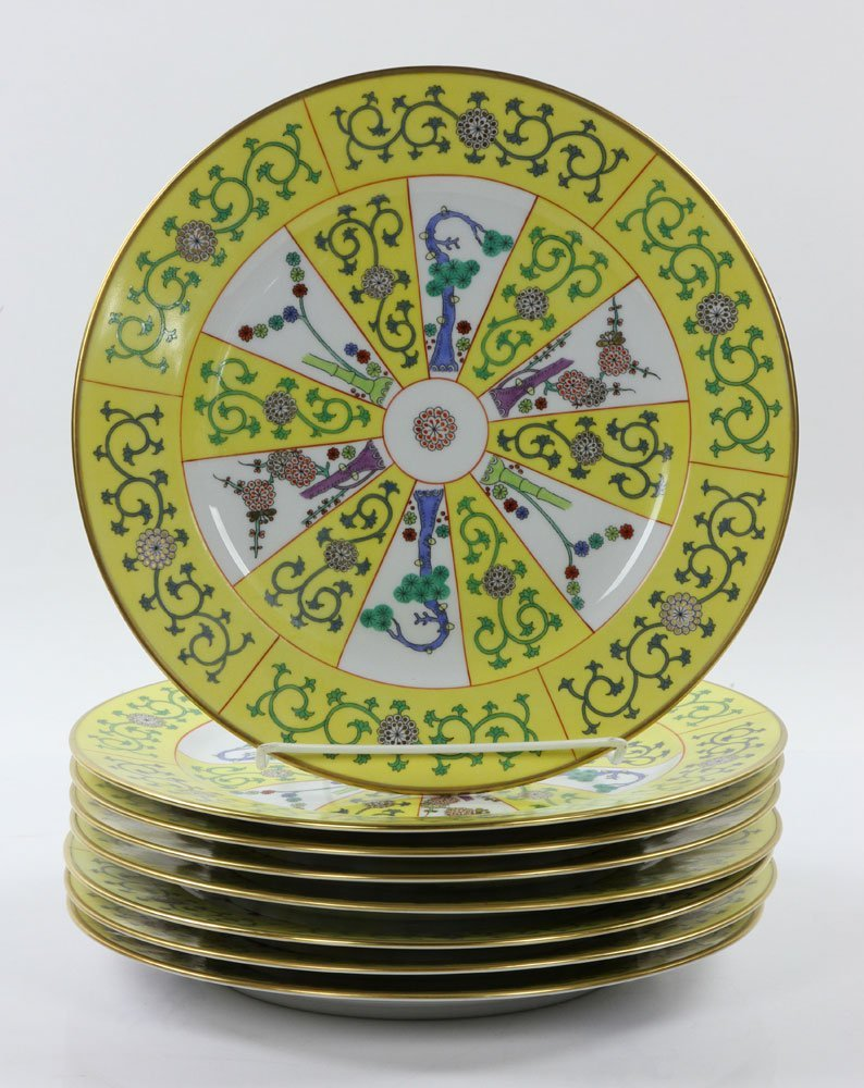 """Herend """"Yellow Dynasty"""" Dinner Service, 80 Pieces - 4"""