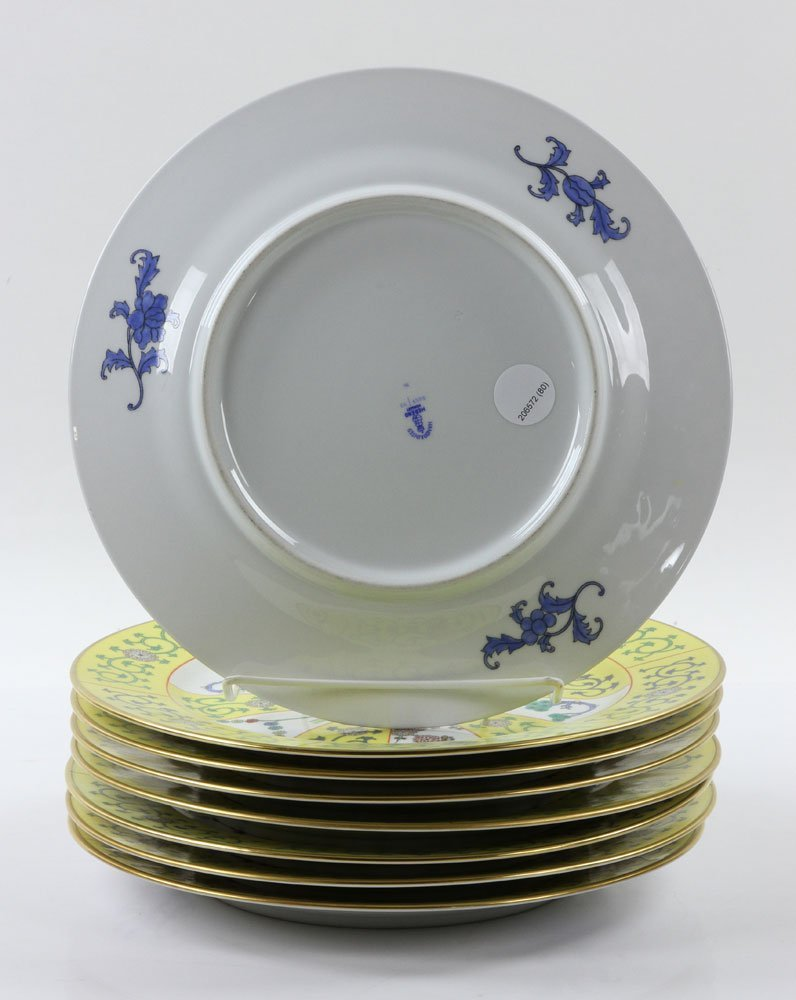 """Herend """"Yellow Dynasty"""" Dinner Service, 80 Pieces - 5"""