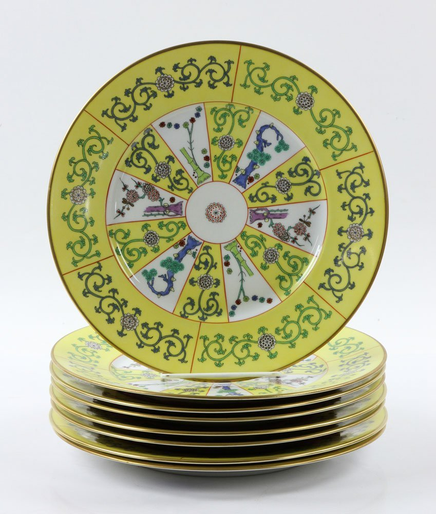 """Herend """"Yellow Dynasty"""" Dinner Service, 80 Pieces - 6"""