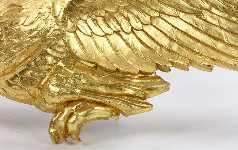 Carved Gilt Wood Eagle - 3