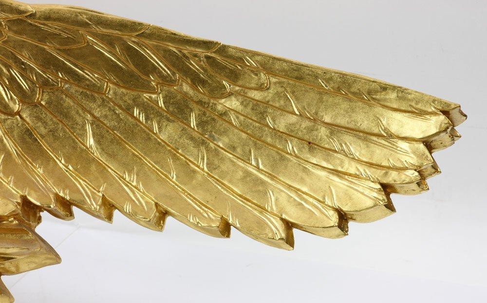 Carved Gilt Wood Eagle - 4
