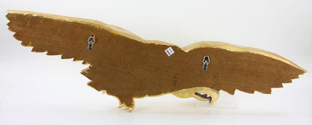 Carved Gilt Wood Eagle - 8