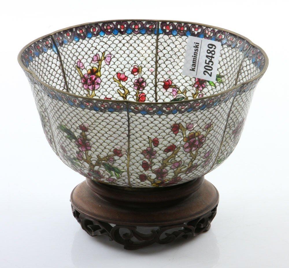 Chinese Plique-du-jour Bowl - 2