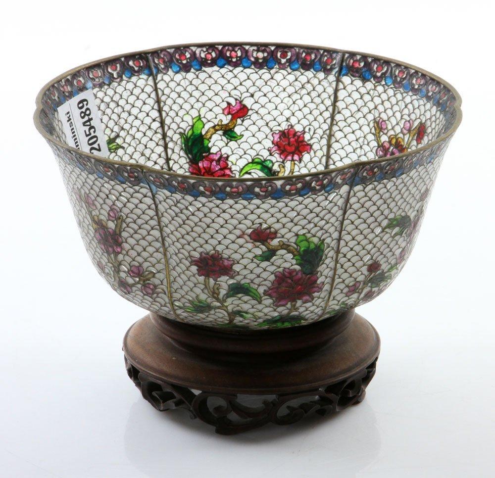 Chinese Plique-du-jour Bowl - 3