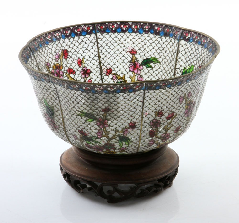 Chinese Plique-du-jour Bowl - 4