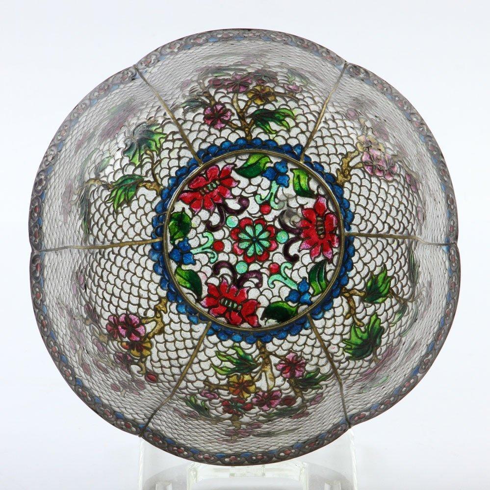 Chinese Plique-du-jour Bowl - 5