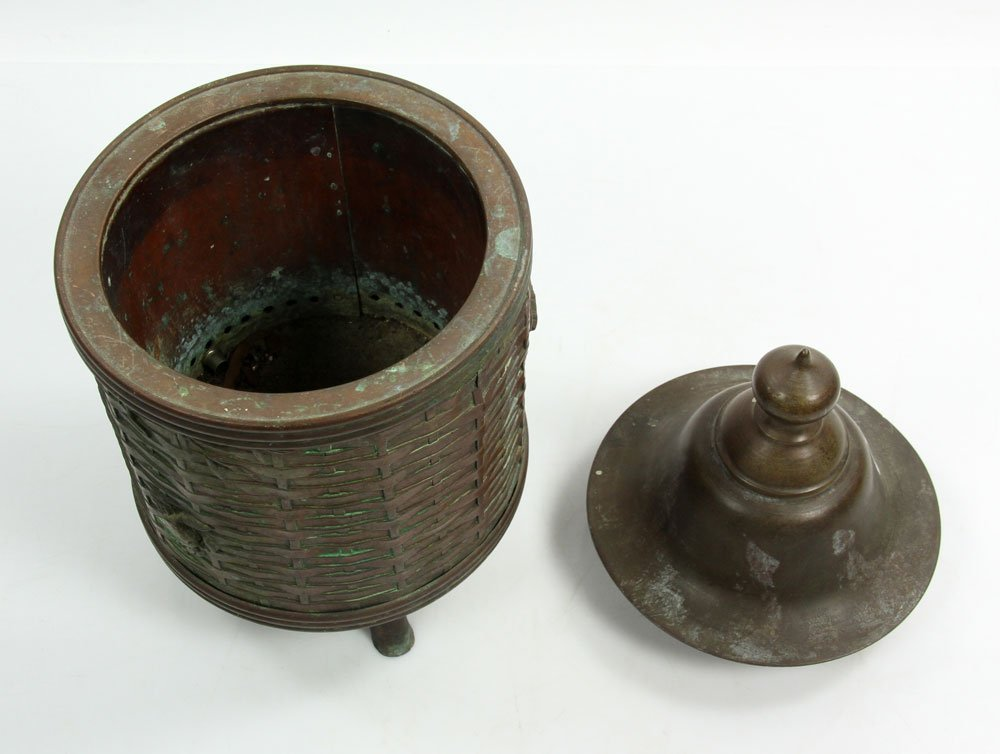 Chinese Bronze Lantern - 4