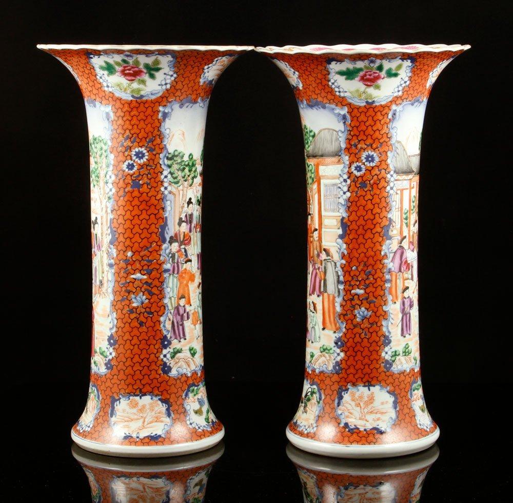 Pr. Chinese Export Vases - 2
