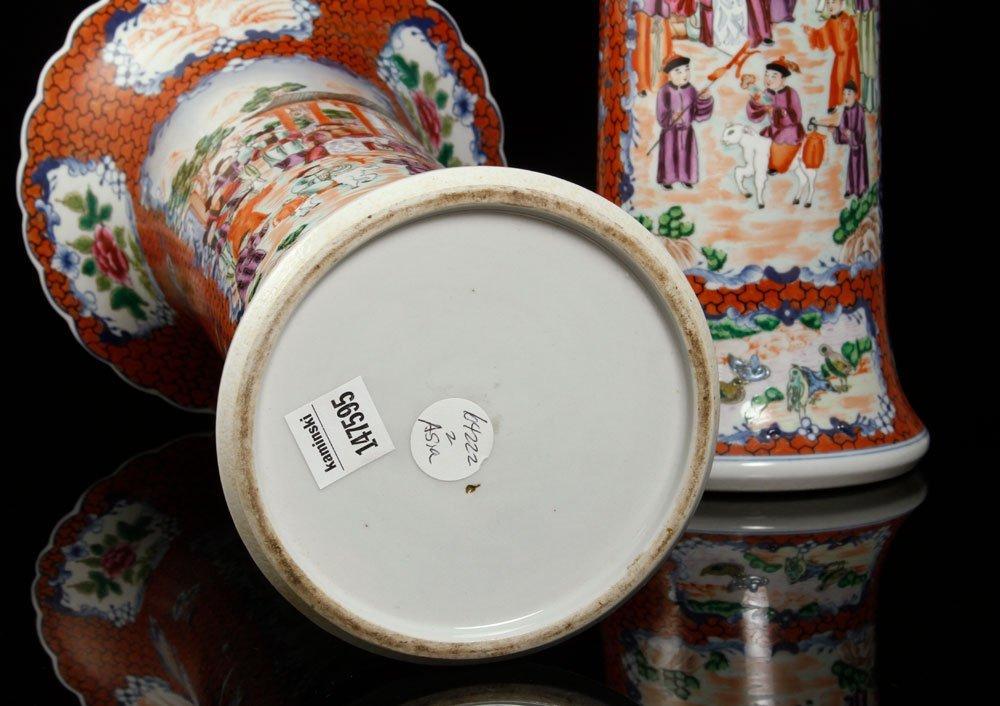 Pr. Chinese Export Vases - 4