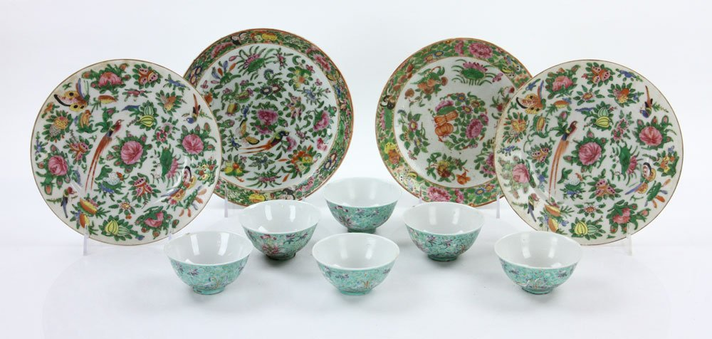 Ten Chinese Porcelain Items