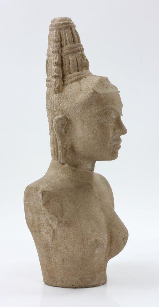 Southeast Asian Stone Female Torso - 2