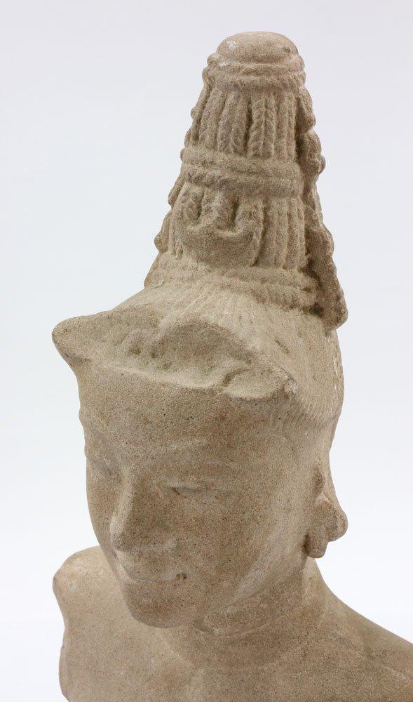 Southeast Asian Stone Female Torso - 6