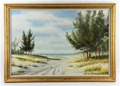 Kemp, Road to the Beach, Oil on Canvas