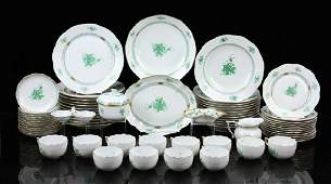 """Herend """"Chinese Bouquet"""" Dinner Service"""