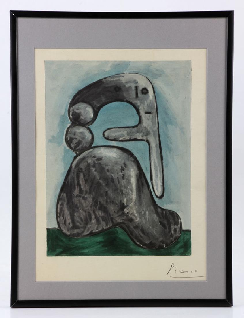 """Picasso, """"Venti"""" Lithograph"""