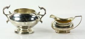 Lot Of Early English Silver Vessels