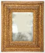 16th/17th C. Italian Carved Gilt Mercury Mirror