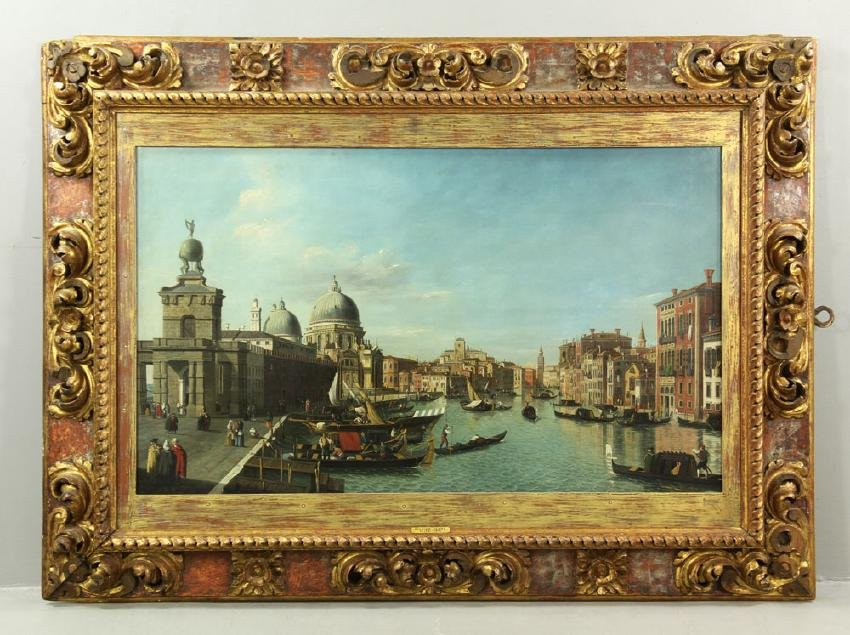 James, Grand Canal Venice, Oil on Canvas