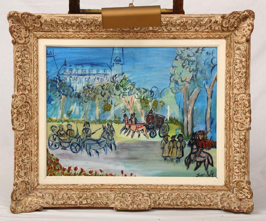 Dufy, Parisian Park Scene, Oil on Canvas