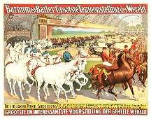 MAGNIFICENT BARNUM AND BAILEY GERMAN TOUR 1897